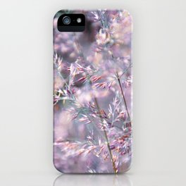 colourful grasses iPhone Case