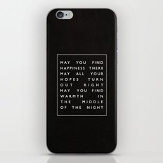 II. Find Happiness iPhone Skin