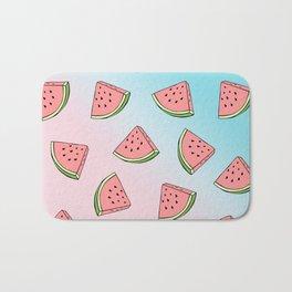 Summer colorful watermelon pattern Bath Mat