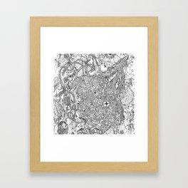 MMav Pillow 3. Framed Art Print