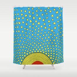 Playful Sunshine Shower Curtain