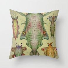 Cephalopodoptera Tab. III Throw Pillow