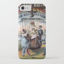 Excelsior Ginger Ale vintage kitsch poster art iPhone Case