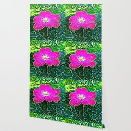 Magenta Flower of Harmony Wallpaper