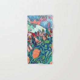 Floral Migrant Quilt Hand & Bath Towel