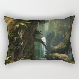 Realm of the Giant Trees | Concept Art Personal project Rectangular Pillow