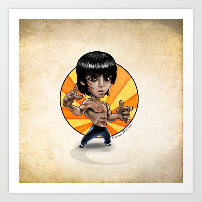 Tiny Lee. Art Print