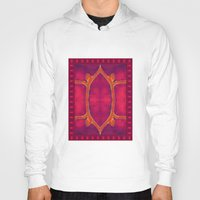 ashton irwin Hoodies featuring Marburg virus tapestry- by Alhan Irwin by Microbioart