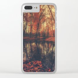 Where are you? Autumn Fall - Autumnal forest Clear iPhone Case