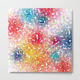 Birthday Party Confetti Metal Print