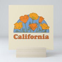 California Poppies Mini Art Print