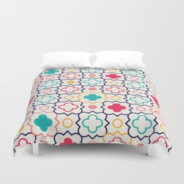 Cute Eastern Pattern Duvet Cover