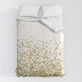 Gilded confetti Comforters