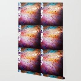 Liquid rainbow Wallpaper