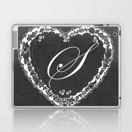 S Vintage Valentine Chalkboard Laptop & iPad Skin