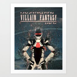 Villain Fantasy_FORGE Art Print