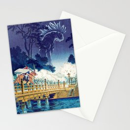Ashitaka and the Forest Spirit Stationery Cards