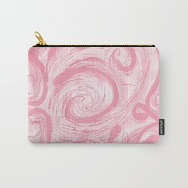 Pink swirling wind Carry-All Pouch
