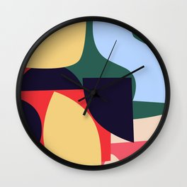 Collage VI Wall Clock