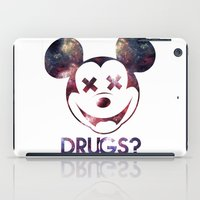 mouse iPad Cases featuring mouse by jeff'walker