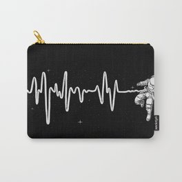 Space Heartbeat Carry-All Pouch
