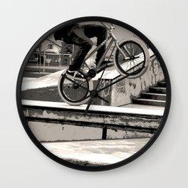 Wheelie Master  - BMX Biker Wall Clock