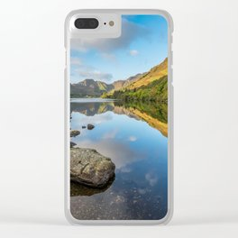 Crafnant Lake Snowdonia Clear iPhone Case