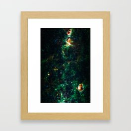 Can't Shine Without Darkness, Galaxy Nebula Background, Universe Large Print, Space Wall Art Decor Framed Art Print