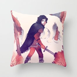 North of the Wall Throw Pillow