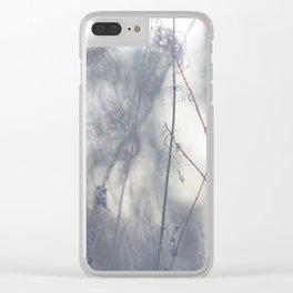 Winter Walk Clear iPhone Case