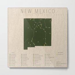 New Mexico Parks Metal Print
