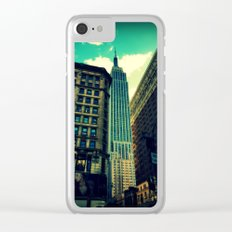 empire state building New York Clear iPhone Case