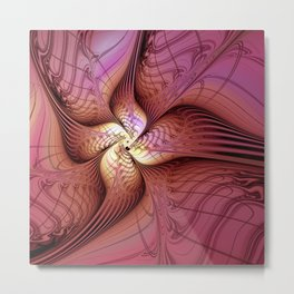 Abstract Fantasy Metal Print