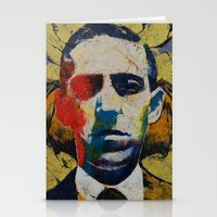 lovecraft Stationery Cards featuring Lovecraft by Michael Creese
