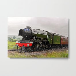 60103 Flying Scotsman Metal Print