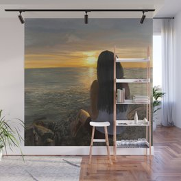 Ocean Sunset Reflection in the Keys Wall Mural