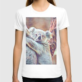Painted Koala Baby T-shirt