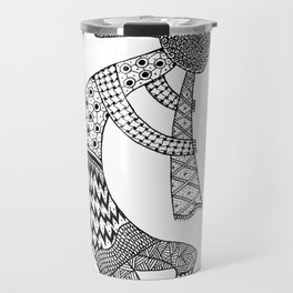 Tangled Kokopelli Travel Mug