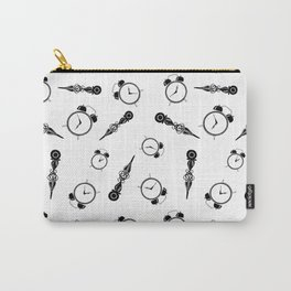 Tick Tock clock Carry-All Pouch