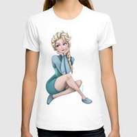 frozen elsa T-shirts featuring Elsa - Frozen by Roe Mesquita