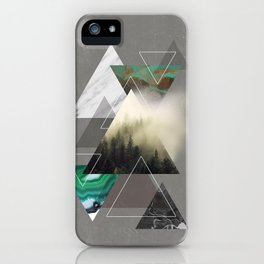 Triangles Symphony iPhone Case