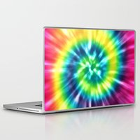 tie dye Laptop & iPad Skins featuring Tie Dye by Patterns of Life