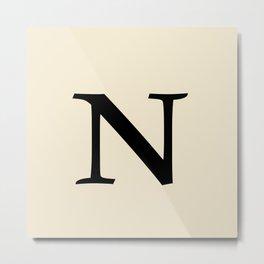 NN Metal Print