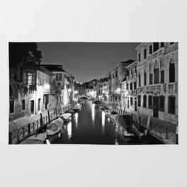Venitian Canal. Santa Croce, Venice, Italy Rug