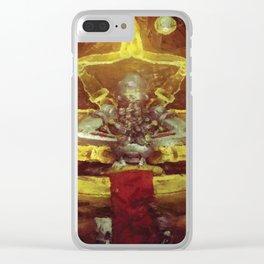 Zenyatta Art Print Clear iPhone Case