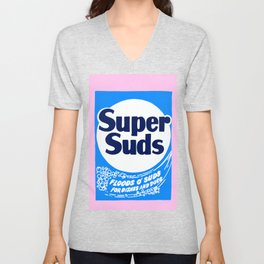 Super Suds Box of Laundry Detergent Unisex V-Neck
