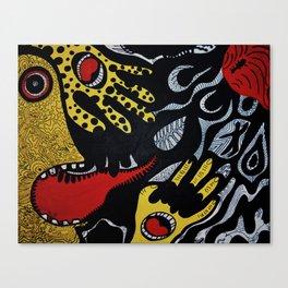 Ego Go Home, You're Sick! Canvas Print