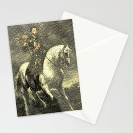 Charles V on his Horse Stationery Cards