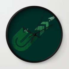 Gradius Wall Clock