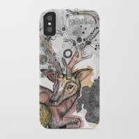 fawn iPhone & iPod Cases featuring Fawn by Pfirsichfuchs